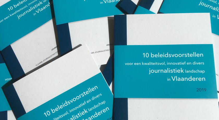Memorandum Journalismfund.eu Vlaams Journalistiek Fonds Pascal Decroos