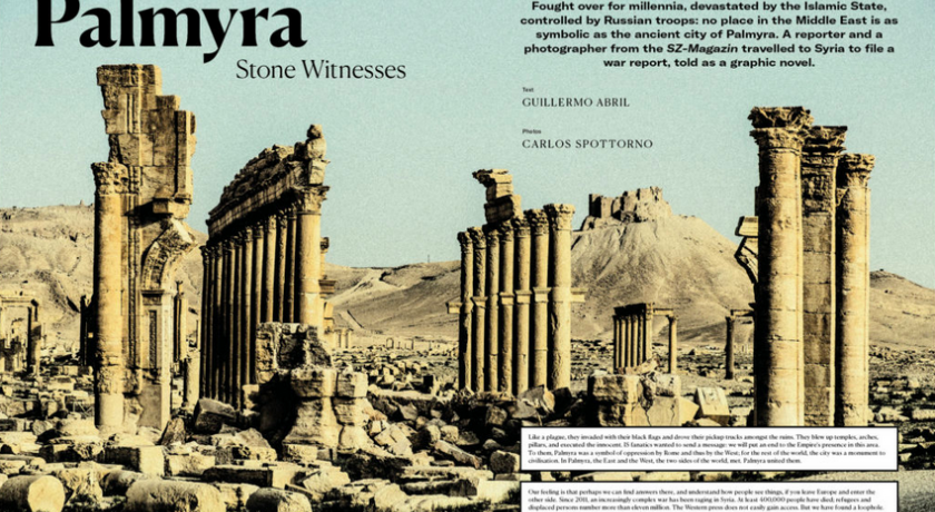 Palmyra the other side
